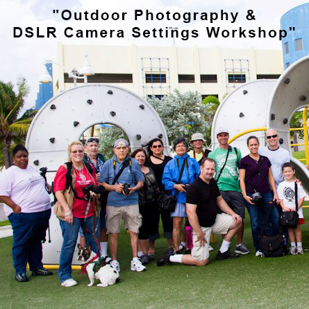 Outdoor Photography & DSLR Camera Settings Workshop